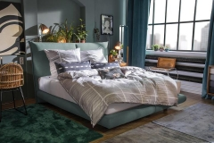 Tom Tailor Soho Pillow boxspring ágy NTBO 16 szövettel