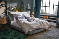 Tom Tailor Soho Pillow boxspring ágy NTBO 18 szövettel