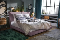 Tom Tailor Soho Pillow boxspring ágy NTBO 27 szövettel