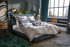 Tom Tailor Soho Pillow boxspring ágy NTBO 36 szövettel