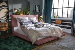 Tom Tailor Soho Pillow boxspring ágy NTBO 37 szövettel