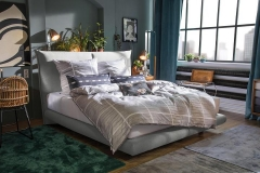 Tom Tailor Soho Pillow boxspring ágy NTBO 39 szövettel