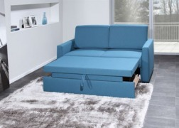 5939 kanapé félig kinyitva, kényelmes lábtartóként használható