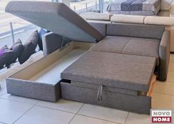 Óriási ágyneműtartós a pihenőkanapé rész alatt
