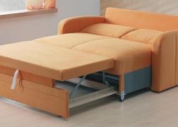 Ágyazható kanapé nyitott állapotban