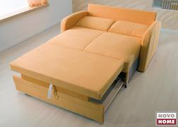 Ágyazható kanapé felülnézetből