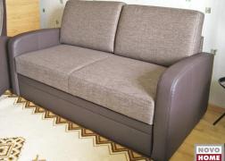 5942 kanapé ágy funkcióval kombinált szövet L karfa