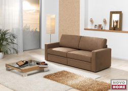 5942 nagy méretű ágynak nyitható kanapé ZFX4 szövettel, M karfával