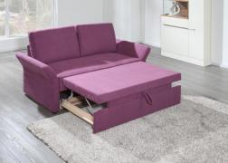 ADA 5946 kanapé félig nyitott pozícióban, lábtartóként használható