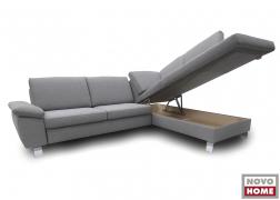 Nagy méretű ágyneműtartót kérhetünk az ülőfelület alá