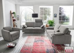 Kanapé 2 méterten + fotel LWI 4 szövettel, magas háttámla, 1-es ülés