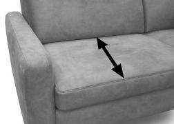 50 cm-es ülésmélység