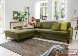 A 6283 Domino pihenőkanapéban található relax funkció extra kényelmet biztosít olvasáshoz