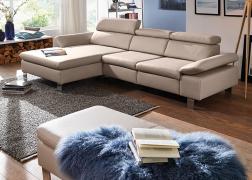 Diletta kanapé állítható karfákkal és nyaktámasz résszel