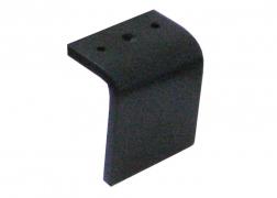 S 289 fekete fém láb, 10 és 13 cm-es magasságban