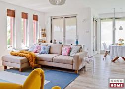 6372-es kanapé egy Vinkovics Zsuzsa által tervezett enteriőrben