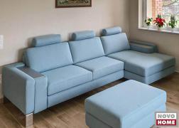 ADA 6372 kanapé TBO szövettel, D típusú karfával