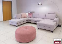 6372 ADA Trendline kanapé U alakú, kihúzható és ágyneműtartós