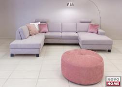 ADA Trendline 6372 kanapé, U alakú GRO típusú szövettel