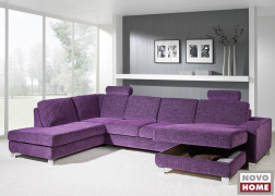 A pihenőkanapé rész ágyneműtartóval is kérhető