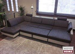 6435 U alakú ülőgarnitúra ágy funkció