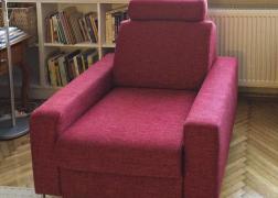 6435 fotel A karfával, THO 7 szövettel