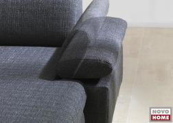 6435 ADA kanapé E-típusú állítható karfa