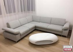 ADA 6435 kanapé elegáns szürkében, mozgatható karfákkal