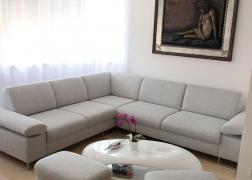 ADA 6435 kanapé két puffal kiegészítve