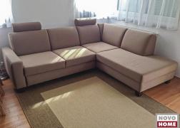 6435 ülőgarnitúra L alak szögletes ülőfelülettel vásárlónk otthonában