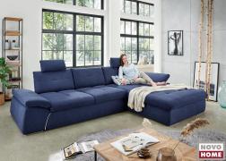 A pihenőkanapé extra kényelmes fekvőfelületettel rendelkezik
