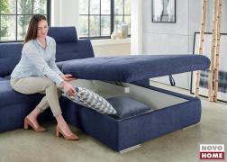 Nagy méretű ágyneműtartó is kérhetünk az ülőfelület alá