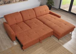 A 6626 ADA Lapetus kanapé óriási méretű ágy funkcióval rendlehető