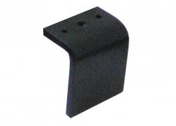 S 289 fekete fém láb, 13 vagy 16 cm-es magasságban