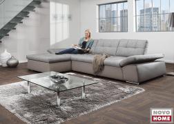Bronx kanapé változtatható ülésmélységgel és mozgó karfákkal