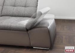 Mozgatható, króm betétes karfa