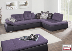 ADA 6674 kanapé kombinált textilbőr-szövet (TLO 29, TCU 47) huzattal