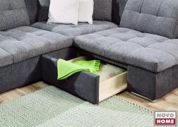 Ágyneműtartó fiók az ülőfelület alatt