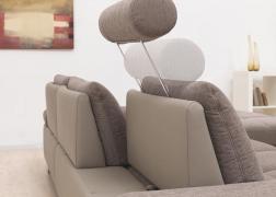 3 típusú nyaktámasszal is kérhető, melyek szabadon áthelyezhetők bármelyik ülőfelülethez
