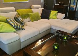 6679 ADA Trenline kanapé vásárlónk otthonában