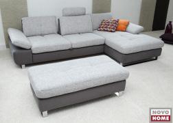 6679 ADA Trendline állítható ülésmélységű kanapé, TGU18 és TCU9 szövetkombinációban