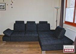 6682-es kanapé szemből, vásárlónk otthonában