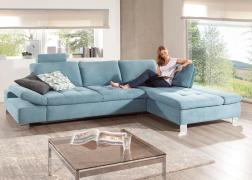 ADA 6682 kanapé steppelt ülőfelülettel és mozgatható karfával
