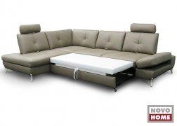 6686 ADA Trendine kinyitható bőr kanapé