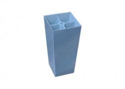 K-100-as műanyag-króm láb (króm színű) (10 cm