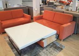 7406 kanapé ágyazható kivitelben