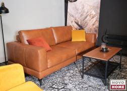 9588 ADA Liv Italy kétszemélyes kanapé VIP bőr bevonattal