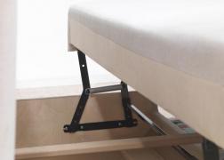 A kanapé kiemelő mechanikával is kérhető
