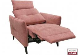 EC 10 relax fotel döntött pozícióban felhajtott karfákkal