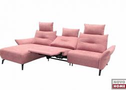 Középső ülőfelület döntött pozícióban